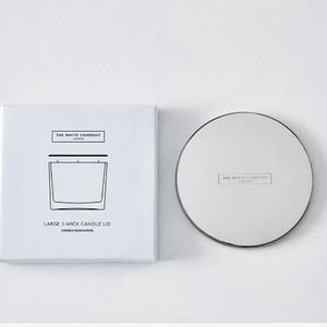 The White Company 1 wick candle lid